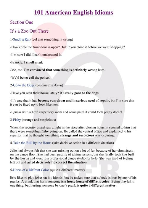 بهترین سایت آموزش اصطلاحات انگلیسی