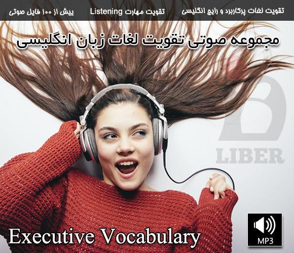 فروش مجموعه آموزش لغت Executive Vocabulary