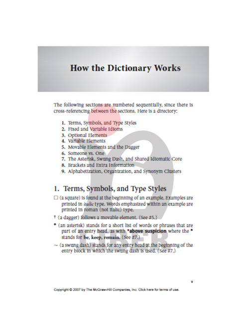 سایت فروش دیکشنری اصطلاحات امریکایی