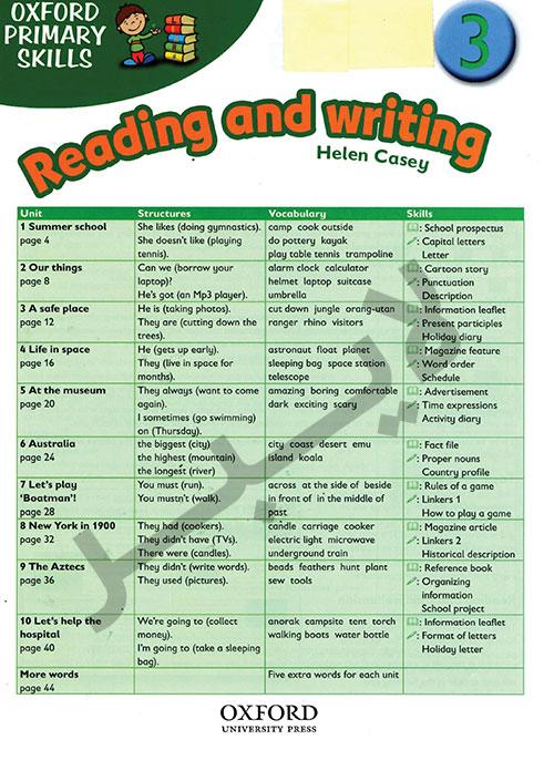 تقویت مهارت های خواندن و نوشتن انگلیسی