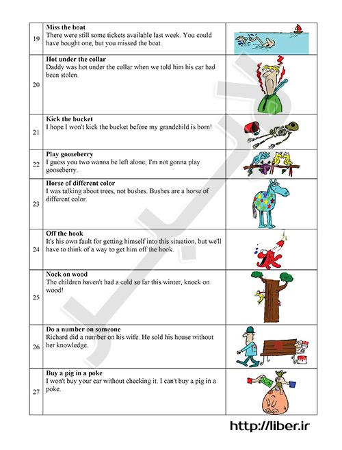 آموزش اصطلاحات انگلیسی با معنی