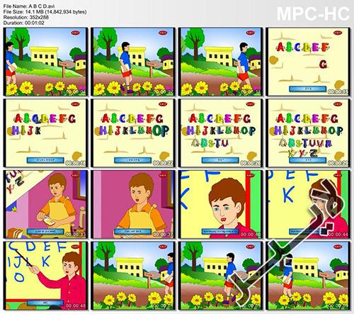 آموزش انگلیسی کودکان از طریق تصویر و صوت